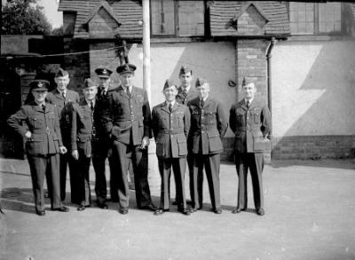 Officers of 1411 Squadron